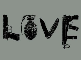 Love by Weapons