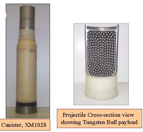 Military Systems Munitions Images M1028 Pic1