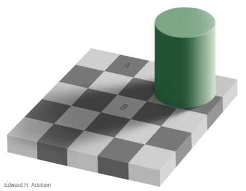 Wp-Content Uploads 2007 02 Checkershadow Illusion