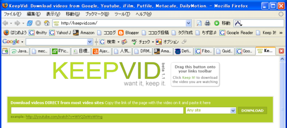 keepvid top page
